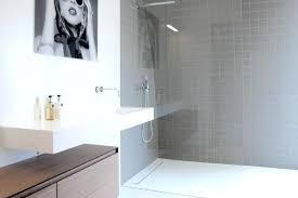 shower linear drain advantages of a walk in shower cohen linear shower drain installation
