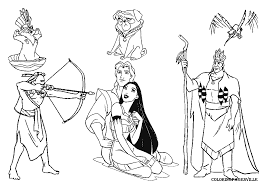 6 Pocahontas Drawing Powhatan For Free Download On Ayoqqorg