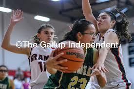 Grants v Thoreau Girls Basketball   Gallup Independent