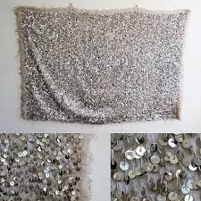 diy home sequin wall hanging