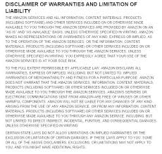 warranty template word warranty template disclaimer of warranties from amazon conditions