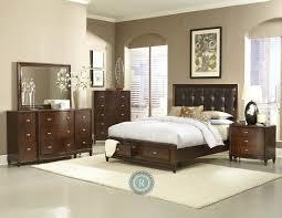 Full Size of Bedroom:appealing Willow Creek Black Platform Storage Bedroom  Set, Cm7690bk Q ...