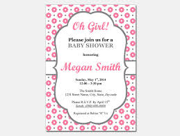 Free Birthday Invitations Templates For Kids Simple Free Girl Baby Shower Invitations