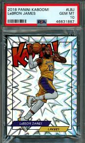 Lebron james rookie card values & checklist   psa graded best selling. Best 7 Lebron James Lakers Basketball Cards Top Investments