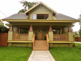 Classic Exterior Color Schemes for your Vintage Craftsman Bungalow |  Craftsman Bungalows for Sale