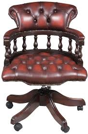 this leather office chair is stunning img_4745 antique leather office chair
