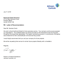 Letter Of Recommendation For A Company Remote Logistics Letter Of Recommendation Ngs