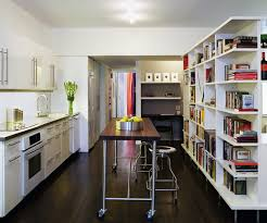 One Wall Kitchens Design Wonderful Inspired Counter Stools Backs In Kitchen Modern
