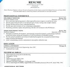 Software Engineer Resume Resume Cv Cover Letter