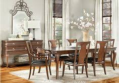 alexi cherry 5pc rectangle dining room dining room setsdining areakitchen diningfurniture