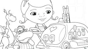 Free Printable Doc Mcstuffins Coloring Pages Printable Doc Ng Pages