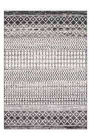 elaziz geometric striped black white