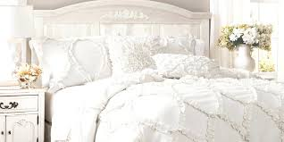vintage chic bedroom furniture. Shabby Chic Bedroom Furniture A With Ruffled Bedspread Vintage