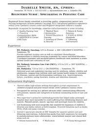 Resume Template For Rn Fascinating Rn Resume Med Surg Sample Medical Surgical Samples New Grad Graduate
