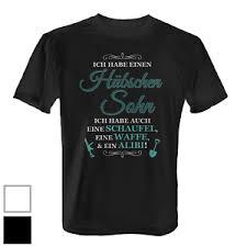 Hübscher Sohn Herren T Shirt Shirt Spruch Geschenk Idee Geburtstag