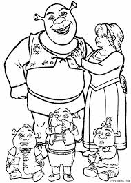 Small Picture Printable Shrek Coloring Pages For Kids Cool2bKids