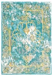 teal and yellow rug blend in lagoon design by fine red teal and yellow rug