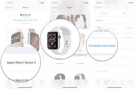 Watch Sizes Chart How To Virtually Try On Both Apple Watch Sizes With The