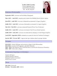 gaillard caroline cv gaillard pdf fichier pdf cv gaillard pdf