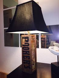 table lamp bourbon booker s theme black shade