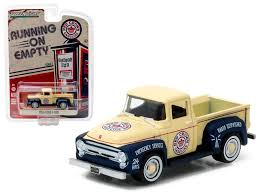 1956 Ford F-100 Red Crown Gasoline Pickup Truck 1:64 Diecast Model ...