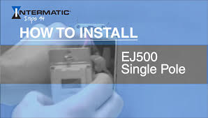 how to install ej500 single pole time switch how to install ej500 single pole time switch intermatic