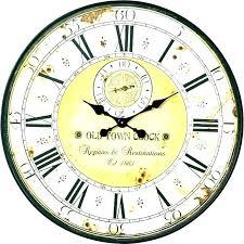 oversized outdoor wall clocks australia clock giant