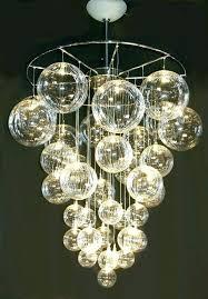 glass bubble chandelier chandeliers e best ideas of chandel