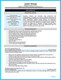Data Analyst Resume Example cool High Quality Data Analyst Resume Sample from Professionals 20