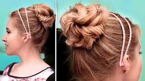 Very Easy Cute Hairstyles Fishtail Braided Updo Hairstyle Cute Quick And Easy Hair