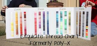 Isacord Color Chart My Favorite Thread Colors Applique Cafe Blog