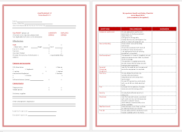 Asset List Template - Printable Forms For Word And Excel®
