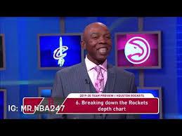 Houston Rockets Depth Chart Nba Gametime Youtube
