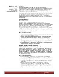 Oncology Nurse Resume Resume Templates