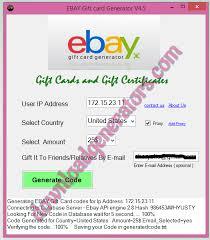 free ebay gift card codes photo 1