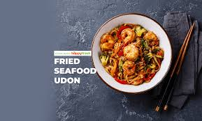 Homecooked Malaysian Fried Seafood Udon ...