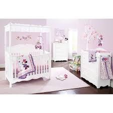 84 best Minnie Mouse Nursery images on Pinterest | Babies stuff ... & Disney Baby 4 Piece Minnie Mouse Love Blossoms Premier Crib Bedding Set -  Kids Line - Adamdwight.com