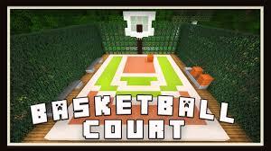 home basketball court design. Minecraft: Basketball Court Design (Modern House Tutorial Ep. 24) - YouTube Home P