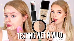 testing wet n wild makeup finally available in the uk sophdoesnails sophdoesnails