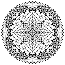 Here Are Difficult Mandalas Coloring Pages