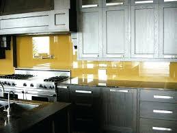 yellow backsplash yellow glass yellow subway tile kitchen backsplash