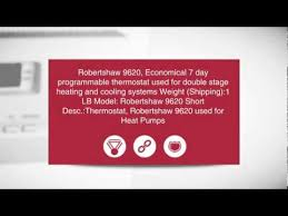 robertshaw digital thermostat 9620 2 heat 2 cool 7 day robertshaw digital thermostat 9620 2 heat 2 cool 7 day programmable ingramswaterandair com