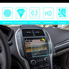 2015 Lincoln Mkc Welcome Lighting 8x Speed For Lincoln Mkc Mkz Continental Mks Mkt Mkx 8 Inch 175x105mm Car Navigation Screen Protector Hd Clarity 9h Tempered Glass Anti Scratch