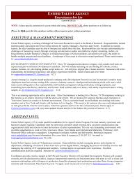 Salary Requirements On A Resumes United Talent Agency