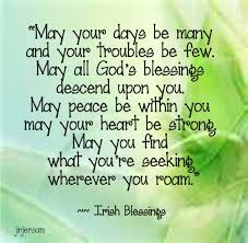 Beautiful Irish Sayings Proverbs Blessings And Prayers Guy And