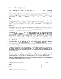 Motor Vehicle Sale Agreement 10 Vehicle Sale Agreement Templates Google Docs Pdf Doc