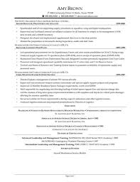 Supply Chain Resume Example Of A Supply Chain Manager Cv Template Logistics Suppliers 41