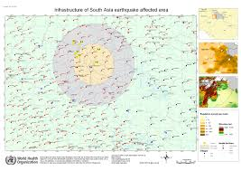 south asia earthquake maps