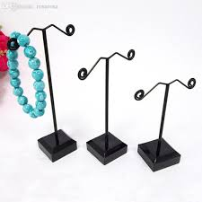 Metal Jewelry Display Stands Wholesale Wholesale100 New Black Acrylic Metal Jewelry Display Stand For 1