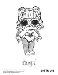 Cosmic Queen Lol Surprise Doll Coloring Page Lotta Lol Simple Home
